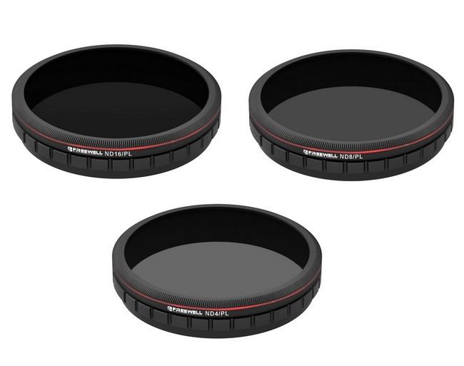 Pack 3 filtres hybrides pour DJI Zenmuse X3 Zoom & Z3