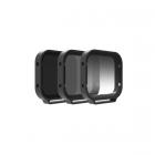 Pack 3 filtres Polar Pro pour Hero 5 black