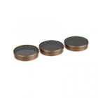 Pack 3 filtres Polar Pro Shutter collection pour Phantom 4 doré nd16 nd32 nd64