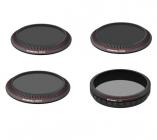 Pack 4 filtres 4K pour DJI Zenmuse X3 Zoom & Z3