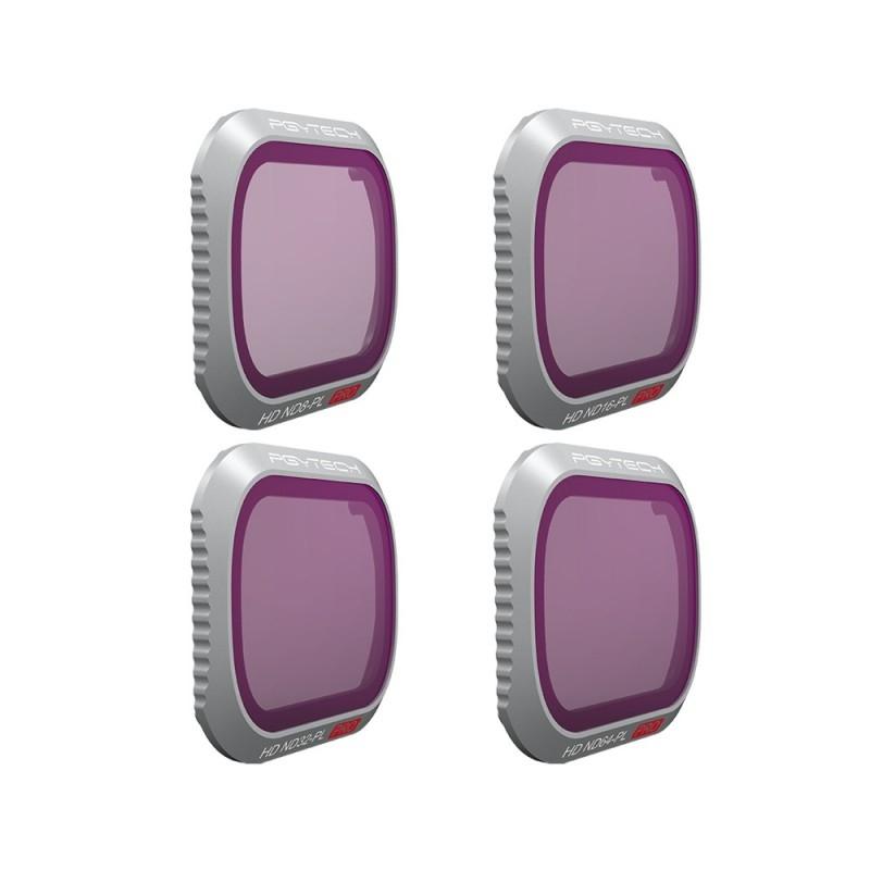 Pack 4 filtres ND/PL Professional pour DJI Mavic 2 Pro - PGYTECH