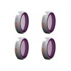 Pack 4 filtres ND SET Advanced pour DJI Mavic 2 Zoom - PGYTECH