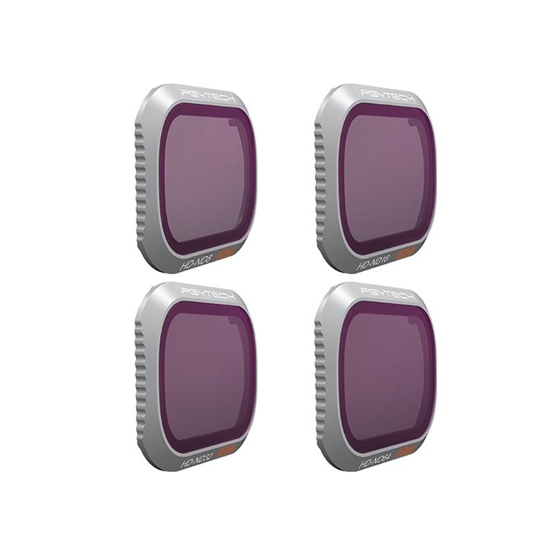 Pack 4 filtres ND SET Pro pour DJI Mavic 2 Zoom - PGYTECH