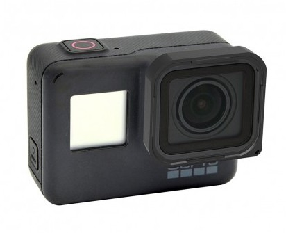 Filtre ND monté sur une GoPro Hero5 Black