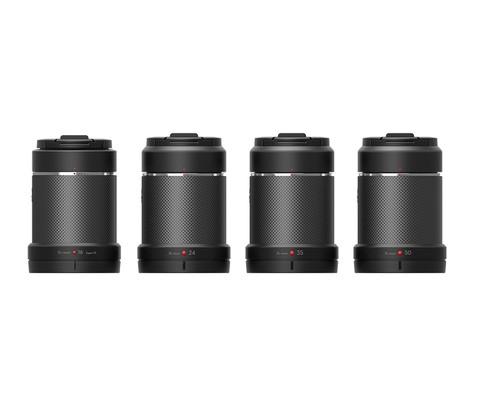 Pack 4 objectifs pour DJI Zenmuse X7