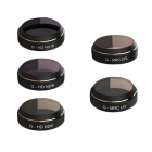 Pack 5 filtres pour DJI Mavic Pro