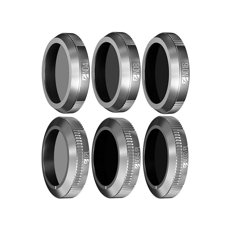 Pack 6 filtres DJI Mavic 2 Zoom - Essential Kit - Freewell