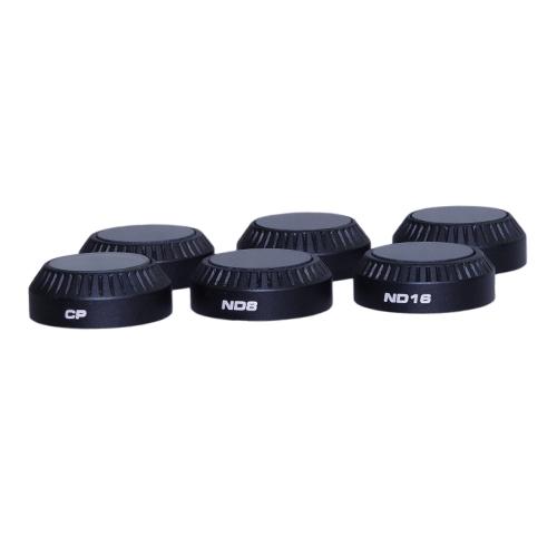 Pack 6 filtres pour DJI Mavic Pro - PolarPro