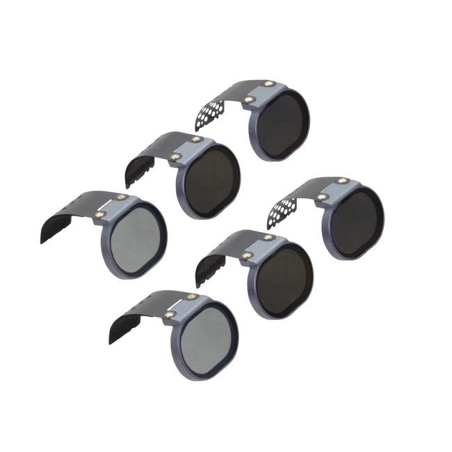Pack 6 filtres pour DJI Spark PolarPro - vue de côté