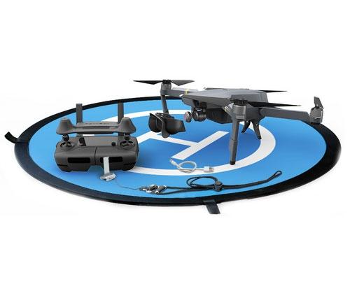 Pack accessoires PGY pour DJI Mavic Pro sur la piste de décollage