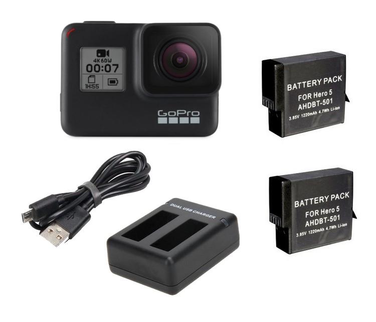 Pack autonomie GoPro Hero5 ou Hero6/7