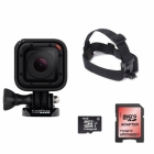Pack Caméra Embarquée Chasse GoPro Hero Session Bandeau Frontal et micro SD 16 Go