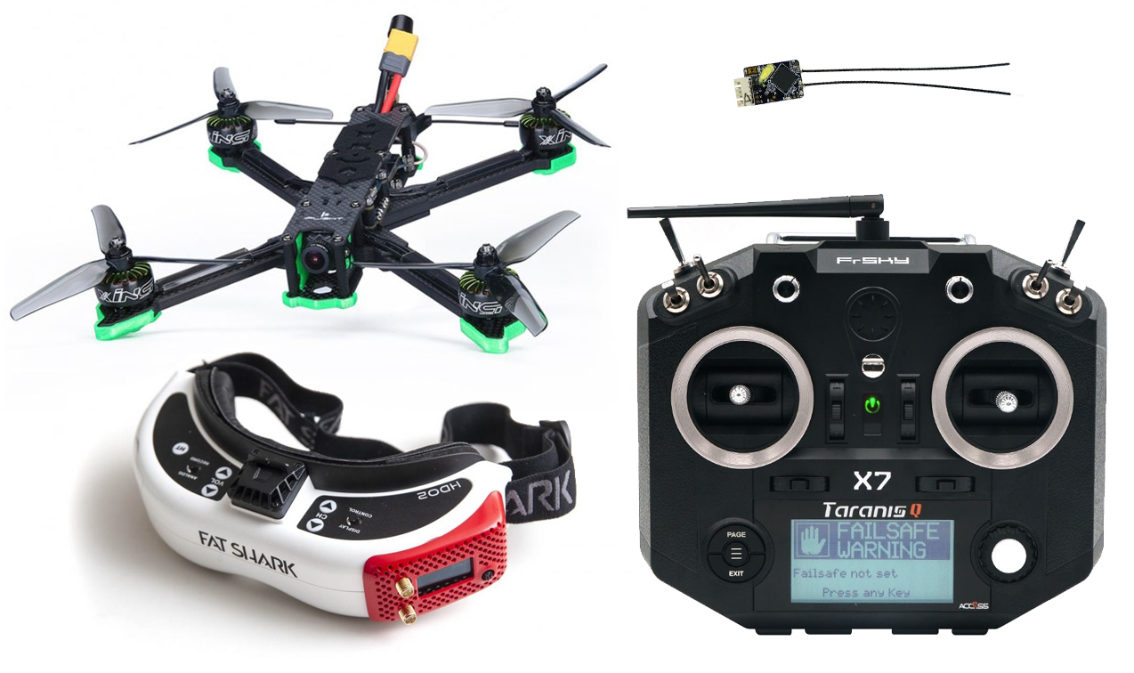 Pack complet XL5 Titan + Taranis X7 + HDO2/RapidFire