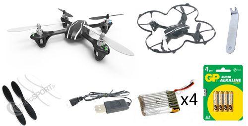 Pack confirmé Hubsan X4 V2 H107L