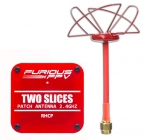 """Pack d\'antennes \""""Two Slices\"""" 2.4GHz RHCP-SMA - Furious FPV"""