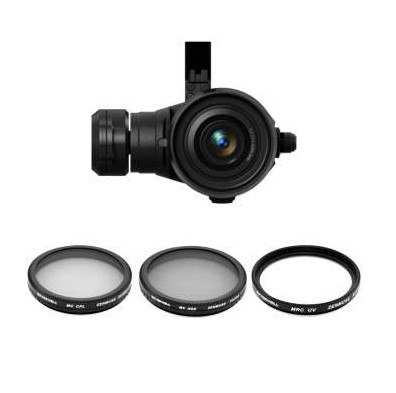 Pack de 3 filtres DJI Zenmuse X7 Freewell