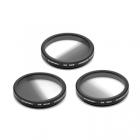 Pack de 3 filtres ND gradués pour DJI X5 & X5R