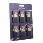 Pack de 6 batteries LiPo Tattu 1S 3.7V 350mAh 30C