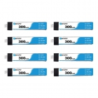 Pack de 8 batteries LiHV 1S 300 mAh 30C (PH2.0) - BetaFPV