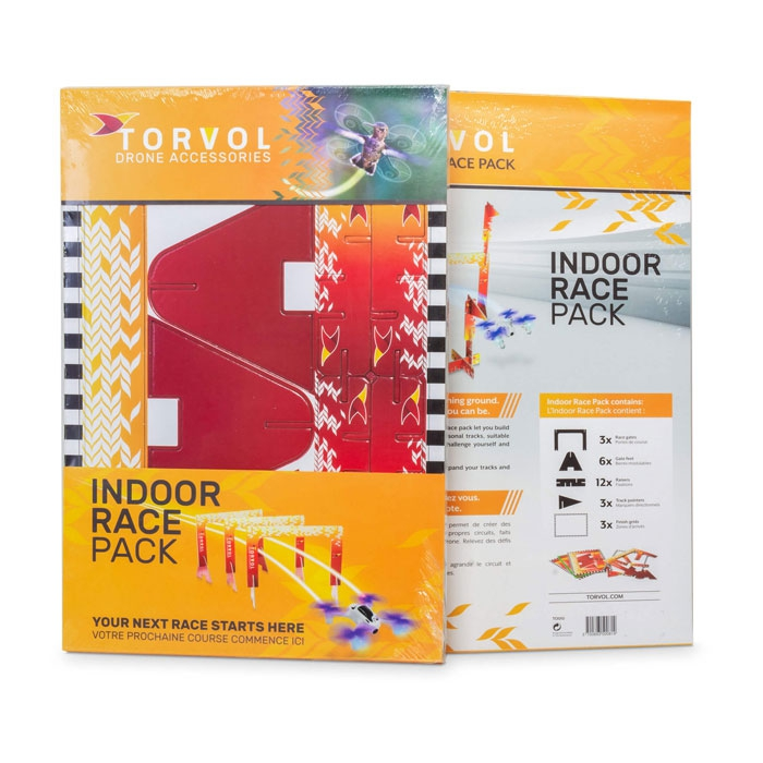 Pack de course indoor pour nano drones - Torvol