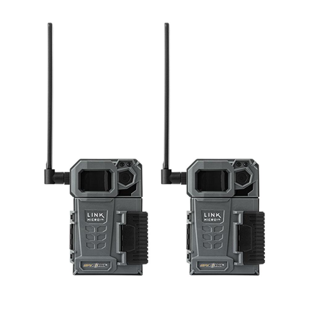 Pack de deux caméras Link Micro LTE anthracite - Spypoint
