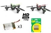 Pack découverte Hubsan X4 HD 720 H107C