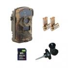 Pack Découverte LTL Acorn 3310A piles carte mémoire 8 go fixation vis à bois