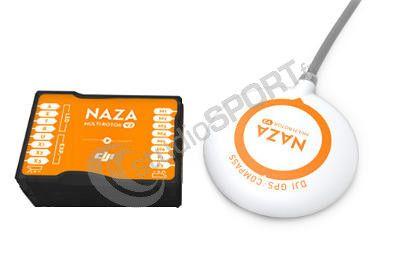 Pack DJI F550 avec Naza V2 + GPS + Train Fixe
