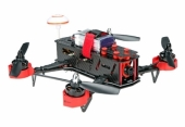 Drone racer Eachine Falcon 250 (RTF) vu de côté