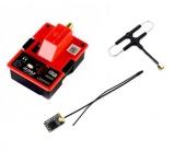 Pack émetteur R9M + récepteur R9MM + Antenne Super 8 - FRSKY