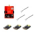 Pack émetteur R9M + trois récepteurs R9 MM- FRSKY