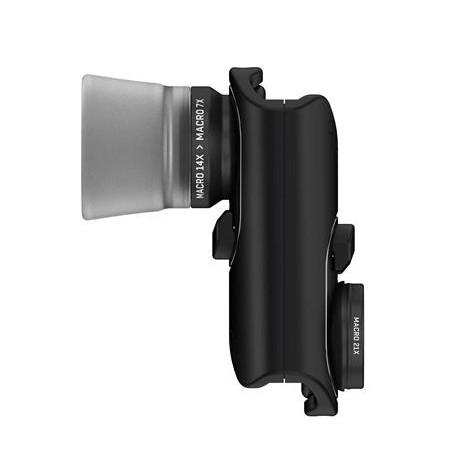 Pack Macro Pro Lens pour iPhone 7 & 7 Plus - vue de côté