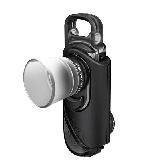 Macro Pro Lens pour iPhone 7 & 7 Plus - vue de biais