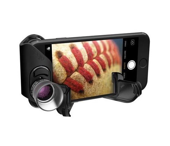 Macro Pro Lens sur iPhone 7 & 7 Plus avec bague de support