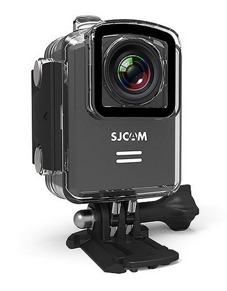 Caméra embarquée SJCAM M20 dans son caisson étanche