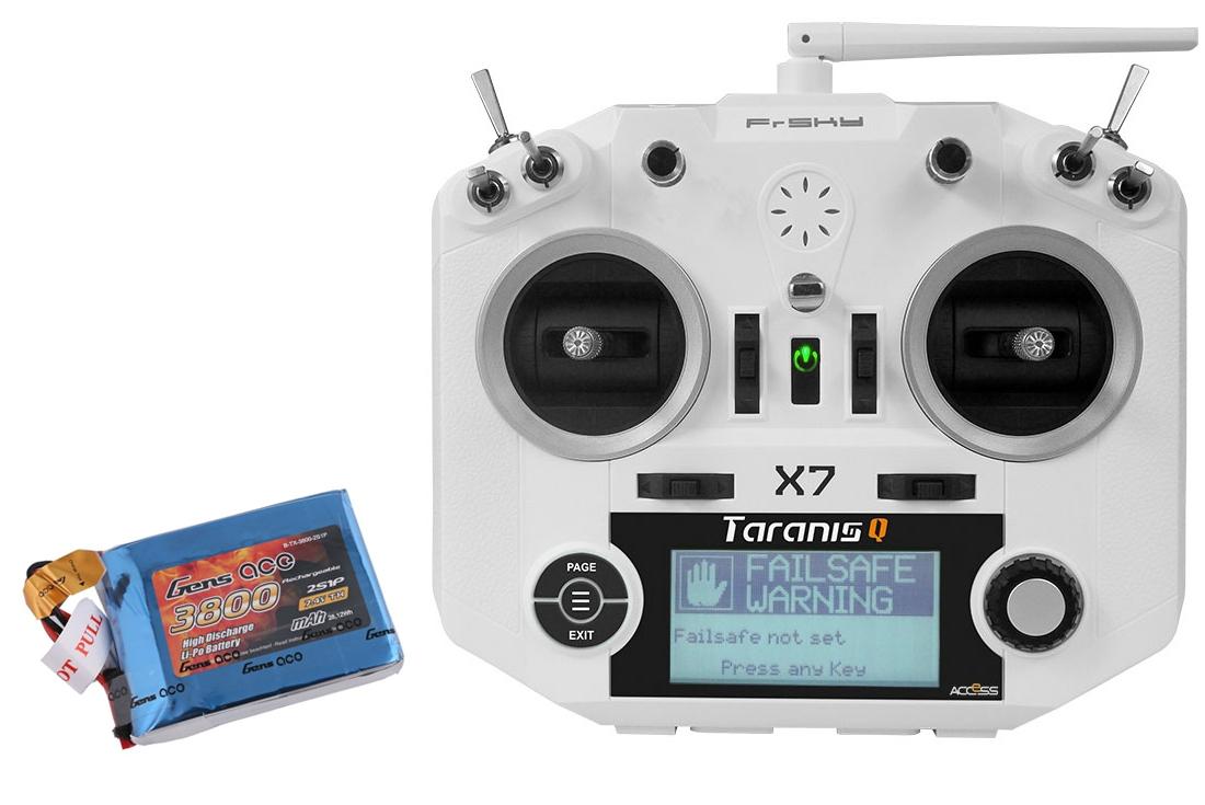 Pack Taranis X7 ACCESS + Batterie LiPo GensAce