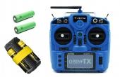 Pack Taranis X9 Lite + Batteries 18650 + Chargeur