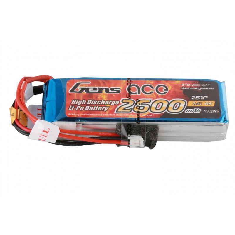 Pack Taranis X9D plus 2019 + Batterie LiPo GensAce