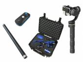 Pack Vidéaste comprenant le stabilisateur Feiyu G4S/G100, la télécommande bluetooth, la valise B&W et la rallonge Ultra Reach