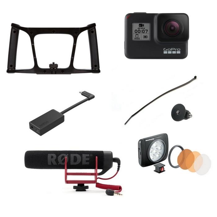 Pack Vlog GoPro Hero5/6 - iOgrapher