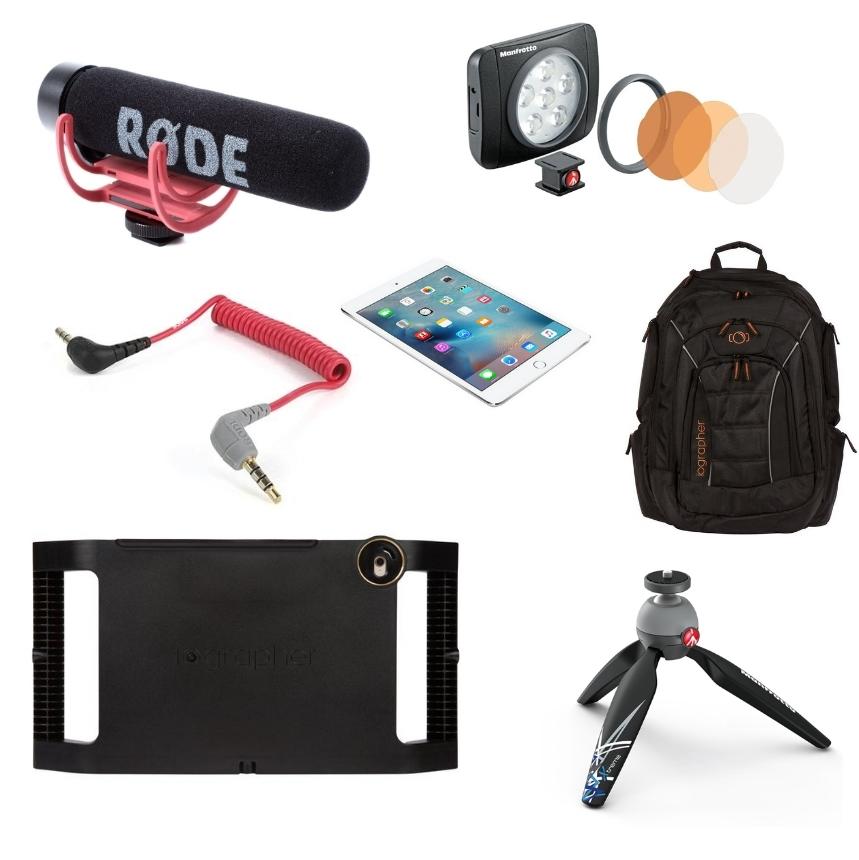 Pack Vlog iPad Mini 4 - iOgrapher