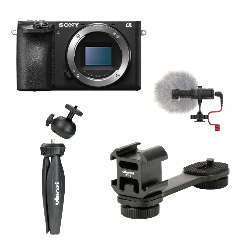Pack Vlog Sony A6400/A6500