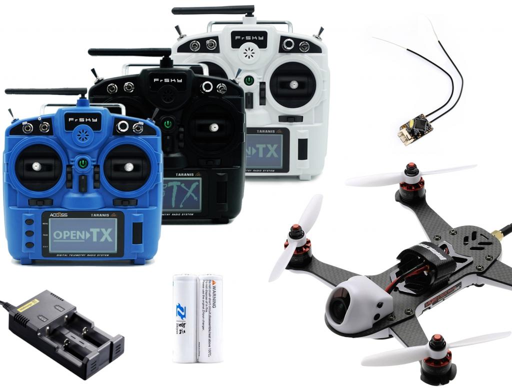 Pack Vortex 180 Mini et Taranis X9 Lite RTF