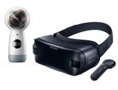Pack VR Samsung - caméra Gear 360 et casque Gear VR