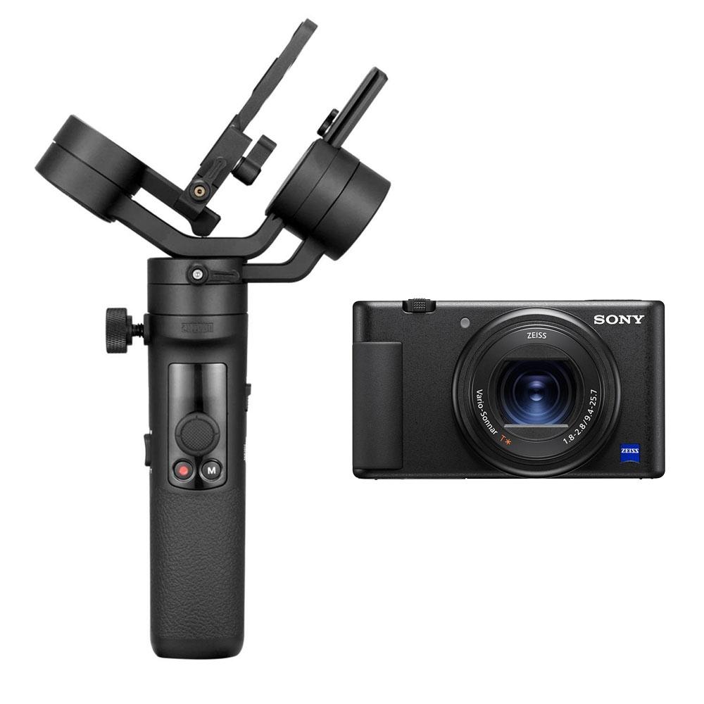 Pack Zhiyun Crane M2 et Sony ZV-1