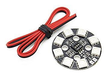 Pad de LED circulaire 16V Matek vue avec son câble