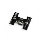 Pad de LED WS2812B & Buzzer Matek vue de dos