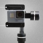 Pads GoPro monté sur un stabilisateur Feiyu SPG