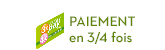Paiement en 3/4 fois