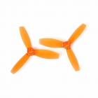 Paire d'hélices DYS XT3045 tripales Orange
